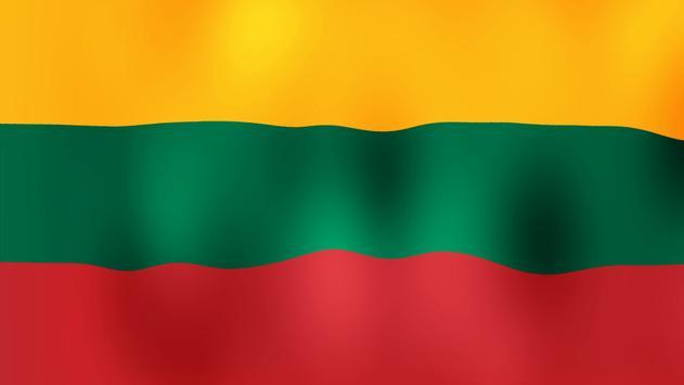 Lietuvos veliava poster