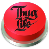 Thug Life Meme Button icon