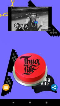 Thug Life Meme Button screenshot 3