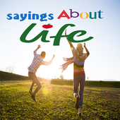 sayings about life icon