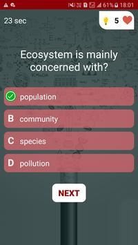 Life Science Quiz screenshot 4