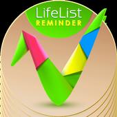 LIfe list reminder icon