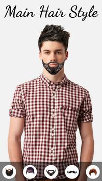 Men Hairstyles - Hair Changer screenshot 2