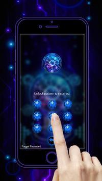 Technology Blue 3D Theme screenshot 4