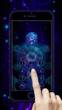Technology Blue 3D Theme screenshot 2