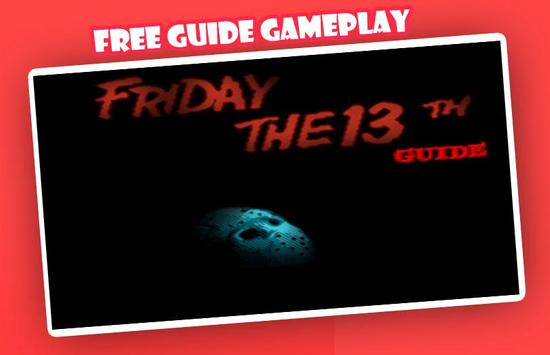 Guide for New Friday the 13th poster