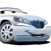 3d Limo Car Driving icon