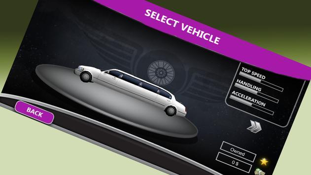3d Limo Car Driving screenshot 4