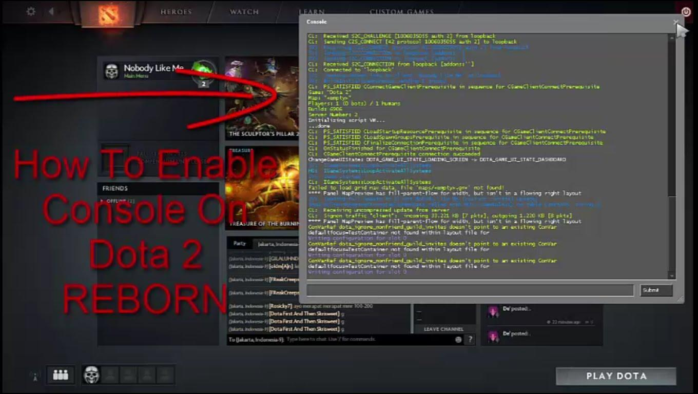 Developer Console Commands Roblox Doota 2 Console Commands Cheats Codes For Android Apk Download