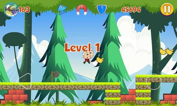 Lincoln Run For Fruits apk screenshot