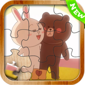 Jigsaw For Line Town icon