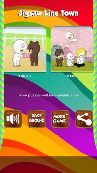 Jigsaw For Line Town screenshot 1
