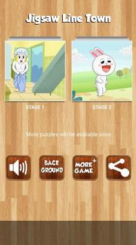 Jigsaw For Line Town screenshot 2