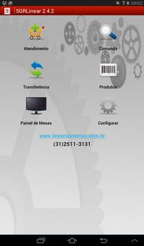 SGR Linear Comanda Eletrônica apk screenshot