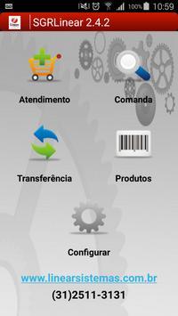 SGR Linear Comanda Eletrônica poster
