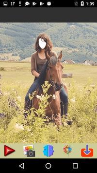 Women Horse Riding Selfie apk screenshot