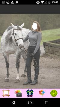 Women Horse Riding Selfie apk screenshot