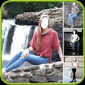 Women Jeans Photo Montage icon