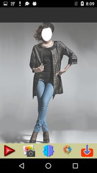 Women Jeans Photo Montage screenshot 3