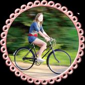 Women on Wheel Selfie icon