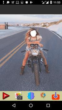 Women on Wheel Selfie poster