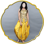 Women Dhoti Fashion icon