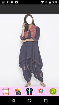 Women Dhoti Fashion poster