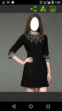 Women Dress Fashion - Black Color screenshot 14