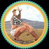 Cow Girl Selfie Editor icon