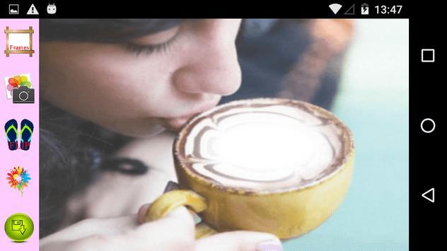 Cup Selfie Photography apk screenshot