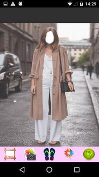 Women Long Coat Photography apk screenshot