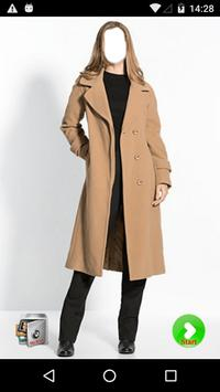 Women Photography  - Long Coat poster