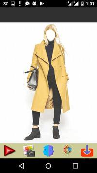Women Winter Long Coat poster