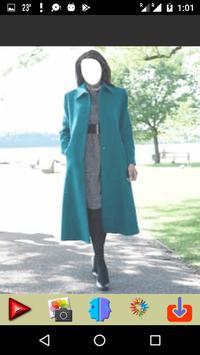 Women Winter Long Coat apk screenshot