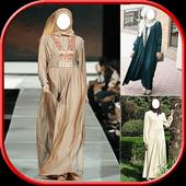 Hijab Abaya Photo Montage icon