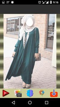 Hijab Abaya Photo Montage apk screenshot