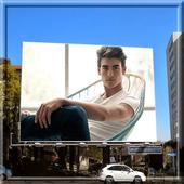 Hoarding Photo Montage icon