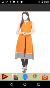 Women Knee Length Kurti screenshot 1