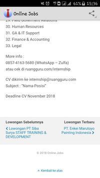 Seleksi & Rekrutmen Kerja screenshot 5