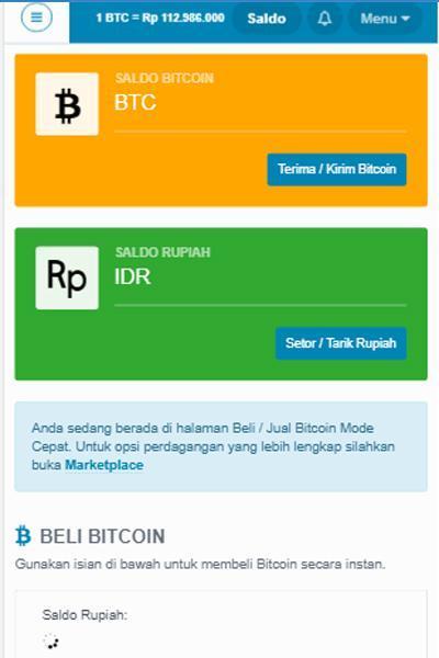 Situs Terpercaya Jual Beli Bitcoin Indonesia (Update )