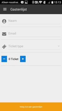 Link2Ticket Event Manager apk screenshot
