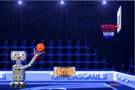 Basketball Robot Lins poster