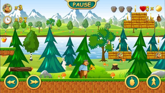 Angry Bear - Platformer screenshot 3