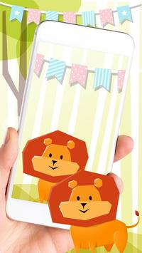 Poster Lion Anime Theme