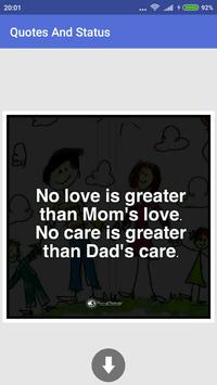 Latest Quotes And Status Photo apk screenshot