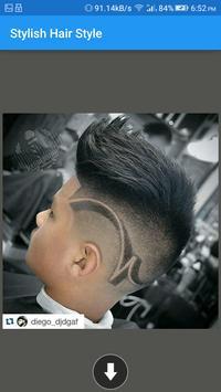 Stylish Hair Style for Men screenshot 2