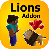 Lions Mod for Minecraft PE icon