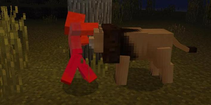 Lions Mod for Minecraft PE apk screenshot