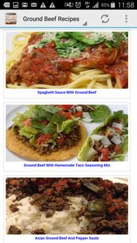 Ground Beef Recipes poster