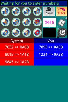 1A2B Brainstorming Game apk screenshot